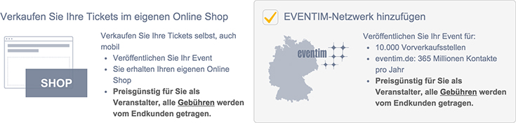 Tickets Konzertkarten Eintrittskarten – Tour Karten @ Eventim