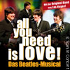all you need is love!  -  Das Beatles - Musical Karten