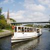 Historische Alster-Kanalfahrt - Dampfschiff