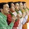 Bild Das GlasBlasSing Quintett: Süßer die Flaschen nie klingen