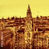 Bild München - Die Weltstadt mit Herz in Sand gemalt