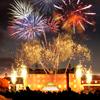 Schloss in Flammen Schwetzingen