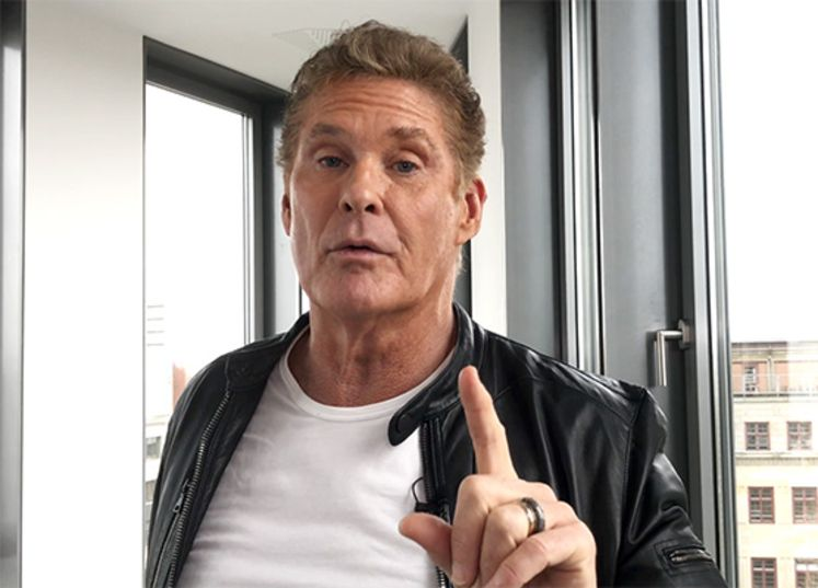 """DAVID HASSELHOFF: Interview zur """"30 Years Looking For Freedom""""-Tour 2018"""