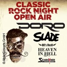 Classic Rock Night Open Air - Doro, Slade, Heaven in Hell, Schreyner