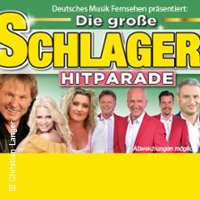 Die große Schlager Hitparade 18/19: Bernhard Brink, Calimeros, Daniela Alfinito, Julia Lindholm u.a. in WITTENBERGE * Kultur- und Festspielhaus Wittenberge