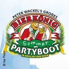 Peter Wackel's großes Bierkönig Sommer Partyboot 2017 in KÖLN-ALTSTADT, 19.08.2017 -