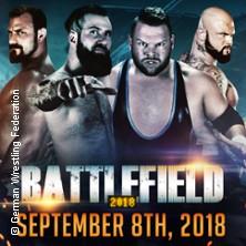 German Wrestling Federation: GWF Battlefield 2018 in BERLIN * HUXLEY'S NEUE WELT,