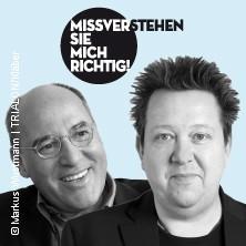 Gregor Gysi Und Sebastian Krumbiegel: Missverstehen Sie Mich Richtig! Tickets