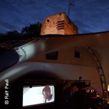 Open-Air-Kino Burg Wilhelmstein in WÜRSELEN-BARDENBERG * Burg Wilhelmstein Freilichtbühne,