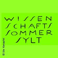 Wissenschaftssommer Sylt 2018 in SYLT * Meerkabarett Club - Friesensaal Keitum,