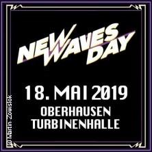 New Waves Day - Peter Hook, Chameleons Vox u.v.m in OBERHAUSEN * Turbinenhalle,
