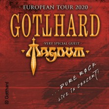 Gotthard with very special guest Magnum