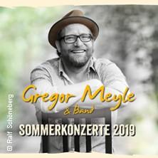 Gregor Meyle - Sommerkonzerte 2019 in HAMBURG * Stadtpark Freilichtbühne