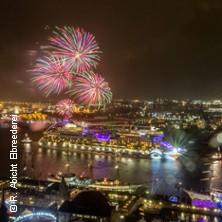Bild für Event Große Feuerwerksfahrt mit dem Schaufelradschiff Louisiana Star - Rainer Abicht Elbreederei
