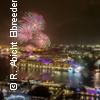 Große Feuerwerksfahrt mit dem Schaufelradschiff Louisiana Star - Rainer Abicht Elbreederei