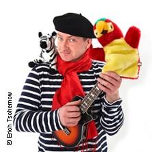 "Dirk Pursche präsentiert: Fridolin Farbenfroh ""Zebra u. Papagei"""