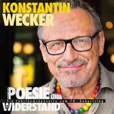 Konstantin Wecker: Poesie Und Widerstand Tickets