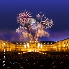 Schloss in Flammen