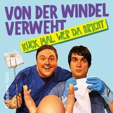 Von der Windel verweht - André Bautzmann & Robert Günschmann in LEIPZIG * Leipziger Central Kabarett,