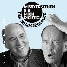 Karten für Gregor Gysi u. Martin Buchholz: Missverstehen Sie mich richtig! in Berlin