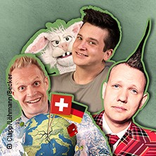 Flotter Dreier - Comedy mit Archie Clapp, Peter Loehmann & Tim Becker