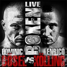 Boxen Live - EM im Halbschwergewicht Dominic Bösel vs. Enrico Kölling in LEIPZIG * Kohlrabizirkus Leipzig,