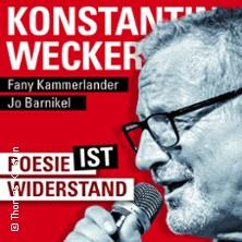 Konstantin Wecker: Poesie IST Widerstand