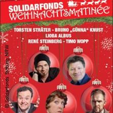 Karten für Sträter-Knust-Steinberg-Albus-Wopp - Solidarfonds Weihnachtsmatinée präsentiert Das Beste kommt zu in Witten