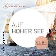 Karten für Filmmusikkonzert: Auf hoher See - Rheingauer Film-Symphoniker in Bad Homburg V. D. Höhe