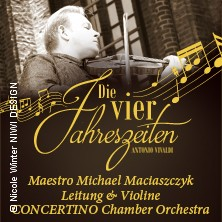 Die vier Jahreszeiten - | Concertino Chamber Orchestra in MAGDEBURG * Johanniskirche Magdeburg,