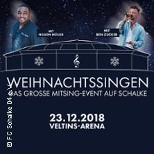 Weihnachtssingen auf Schalke in GELSENKIRCHEN * VELTINS-Arena Gelsenkirchen,