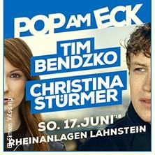 Pop am Eck - mit Tim Bendzko & Christina Stürmer in LAHNSTEIN * Rheinanlagen Lahnstein,