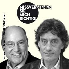 Karten für Gregor Gysi und Winfried Glatzeder: Missverstehen Sie mich richtig! in Berlin