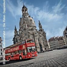 DRESDEN erFAHREN - Die große Stadtrundfahrt in DRESDEN * Die Roten Doppeldecker,