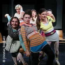 Mädchen wie die - Theater an der Parkaue Berlin in BERLIN * Theater an der Parkaue - Bühne 2,