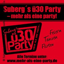 Suberg's ü30 Party: Delta-Musik-Park in Essen, 30.11.2019 - Tickets -
