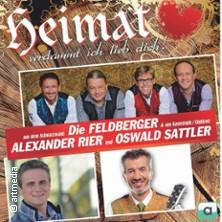 Heimat verdammt ich lieb dich mit Oswald Sattler, Alexander Rier, die Feldberger