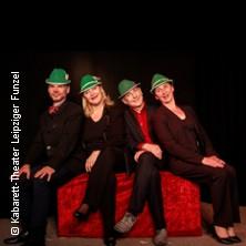 Der helle Wahnsinn: Glotze total! - Ein Zapping durch 5 Funzelprogramme - Theater Leipziger Funzel in LEIPZIG * Kabarett - Theater Leipziger Funzel,