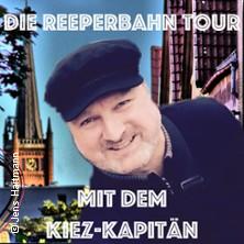 Reeperbahn Tour mit dem Kiez-Kapitän - Hafenkante Hamburg Reeperbahn Touren in HAMBURG * Spielbudenplatz vor der Davidwache,