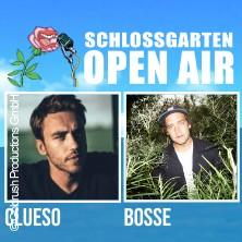 Schlossgarten Open Air 2021 - Clueso + Bosse + Special Guest