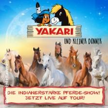 Yakari und Kleiner Donner in Mannheim in MANNHEIM * Neuer Messplatz,