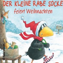 Der kleine Rabe Socke feiert Weihnachten in Erding