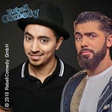 Rebell Comedy - Khalid Bounouar, Salim Samatou & DJ in DORTMUND * Spiegelzelt an den Dortmunder Westfalenhallen,