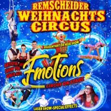 2. Remscheider Weihnachtscircus: ...die neue Show Emotions - Circus on Stage