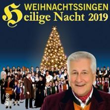 Weihnachtssingen Heilige Nacht mit Enrico de Paruta in Regensburg 2019 in REGENSBURG * Audimax,