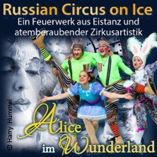 Russian Circus on Ice - Alice im Wunderland in REGENSBURG * Donau-Arena,