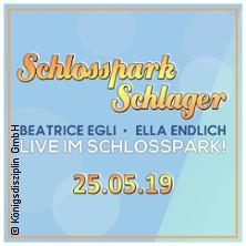 Schlosspark Schlager - Beatrice Egli & Ella Endlich in PADERBORN / SCHLOSS NEUHAUS * Schloß Neuhaus,