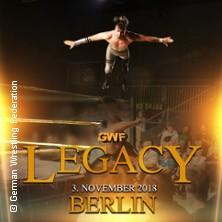German Wrestling Federation: GWF Legacy - 23 Jahre Berlin Wrestling in BERLIN * HUXLEY'S NEUE WELT,
