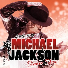 A Tribute To Michael Jackson Dinnershow präsentiert von WORLD of DINNER in ESSEN * Schloss Borbeck / Residenzsaal