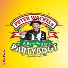 Peter Wackel's Karneval Partyboot